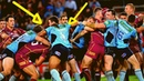State Of Origin Most Brutal Fights Ever | Top 30 HD - NSW Vs Queensland