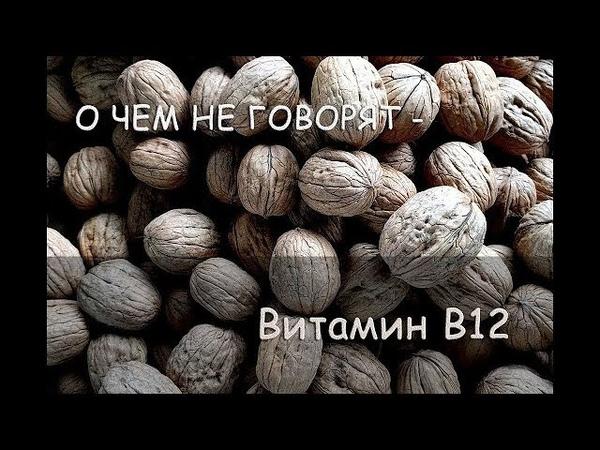 О ЧЕМ НЕ ГОВОРЯТ – Витамин B12, Нехватка Б12, Бактерии B12. В печени витамин B12 сохраняется 3 года!