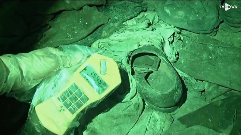 Чернобыль 2013 подвал МСЧ радиоактивная одежда пожарных
