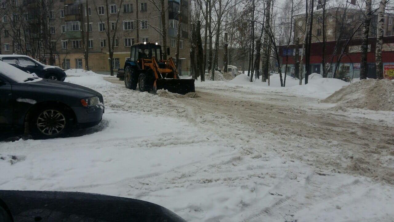 Улица Монтажников дом 28 механизированная уборка