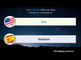 Learn Spanish while you sleep. 5 hours. 1000 Basic Words and Phrases