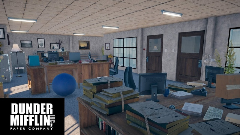 I made the entire Dunder Mifflin office in Far Cry 5