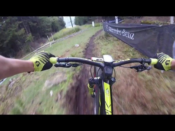 UCI Mountain Bike World Cup XCO Snowshoe USA 2019 track POV