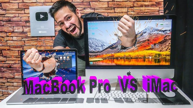 Что лучше iMac или MacBook Pro? тесты на видео эффекты и монтаж
