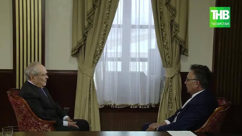 Стояние на Угре интервью с Минтимером Шаймиевым. 7 дней - ТНВ