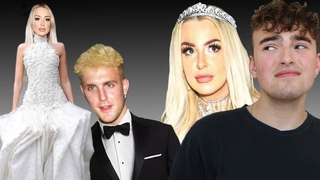WHAT'S TANA MONGEAU GONNA WEAR TO HER WEDDING WITH JAKE PAUL!?!