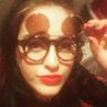 "Danielle Galligan on Instagram: ""Happy Sassmas Mofos 😎 NoveltySunnies MyUncleKnowsMe DirtyHipsterGlasses"""