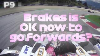 Sergio Perez Storms Through The Field   2020 Styrian Grand Prix