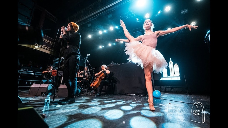 Craig Owens Performs with Ballerinas and String Quartet at Emo Nite at Webster Hall