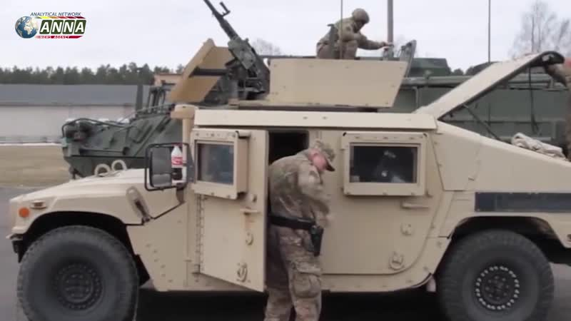 Армия США направилась из Ирака в Сирию __ НОВОСТИ от ANNA NEWS на утро 17 февраля