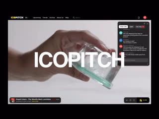 Icopitch — investment broadcast platform