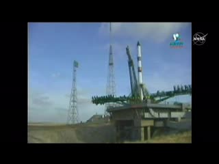 Пуск и вывод на орбиту РН Союз-2.1а с грузовым кораблём Прогресс МС-13