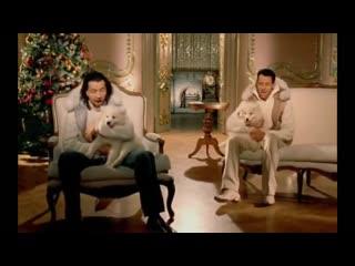 Чай Вдвоем - Новогодний поцелуй   2012 год   клип Official Video HD (Стас Костюшкин, Денис Клявер) (Новый год)