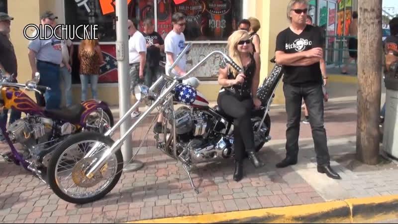 Daytona Bike Week - MAIN STREET - Badass Bikes and AWESOME T A !