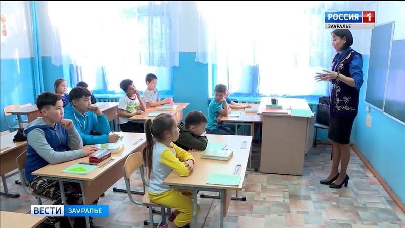 Уроки на казахском: в Макушинском районе открылся первый класс на национальном я