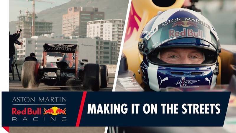 Making it on the streets | Behind the scenes with David Coulthard in Cape Town
