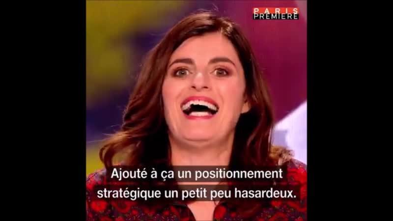 Humour Vous voulez rire Sandrine Sarroche