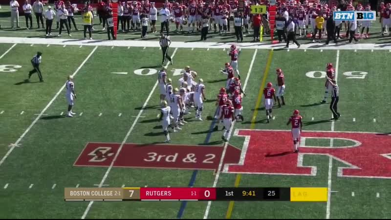 2019 WK04 Boston College at Rutgers Edited