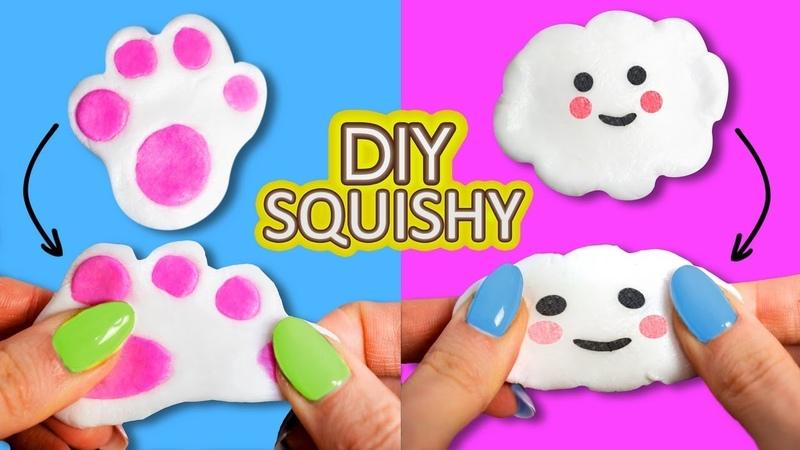 DIY АНТИСТРЕСС игрушки! СКВИШИ всего из 2 ингредиентов / Squishy СВОИМИ РУКАМИ 🐞 Afinka