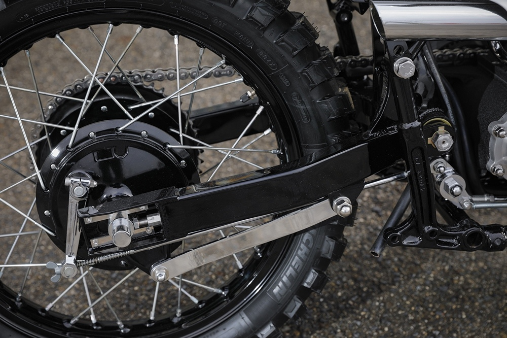 Sato Marine Cycle: скрэмблер H-D Shovelhead