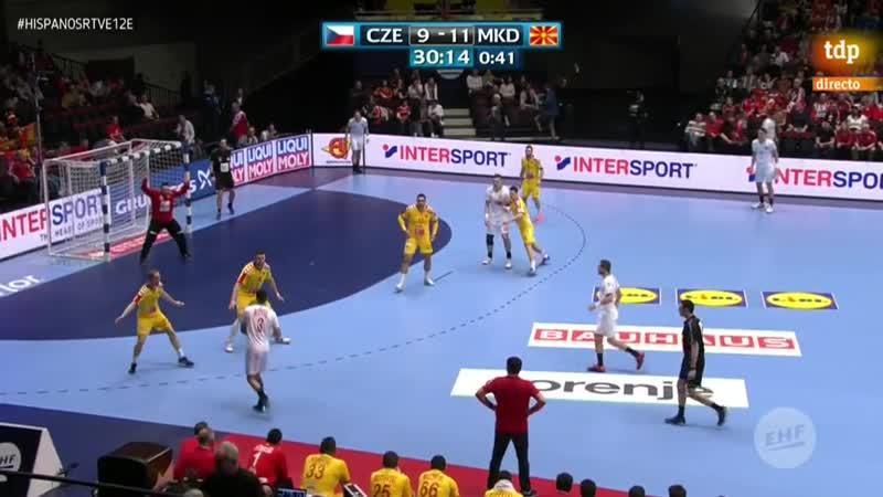 Campeonato de Europa Masculino Repiblica Checa Macedonia