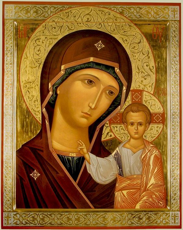 канонические иконы богородицы фото материал