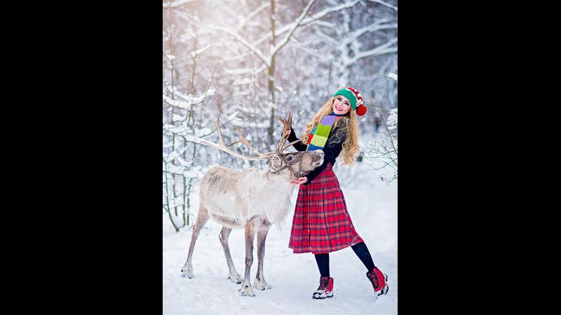 Впечатления мои от фотосета с ОЛЕНЕМ Снежкой