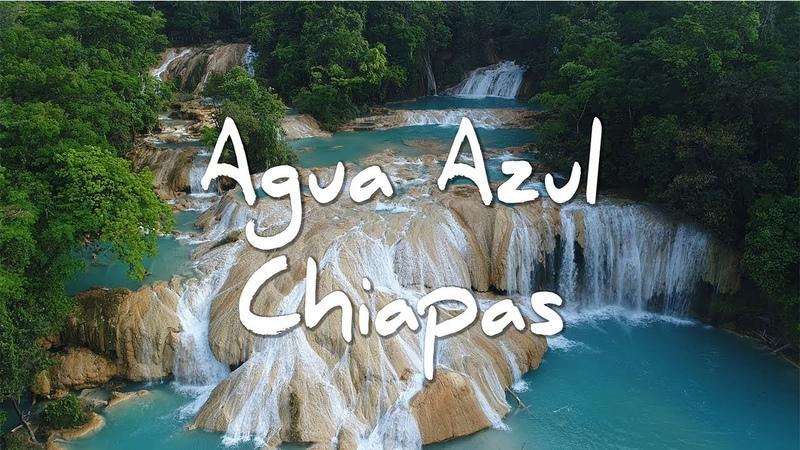 Cascadas Agua Azul Chiapas Que hacer y como llegar Drone gopro