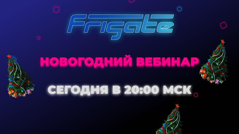 VKLive Frigate Новогодний вебинар