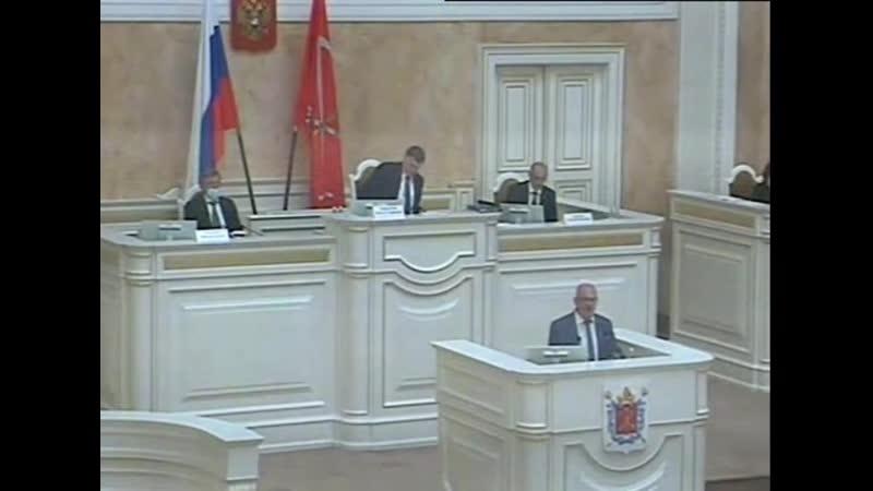 Максим Резник о дирижёре вскафандре инедоверии Правительству Петербурга