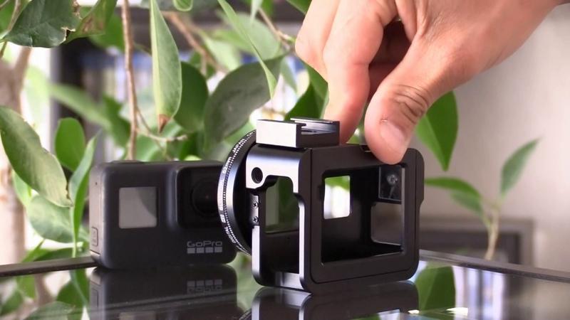 Jaula Carcasa GoPro Hero 5 7 Black - Coloca Filtros y Accesorios - Todofotografia