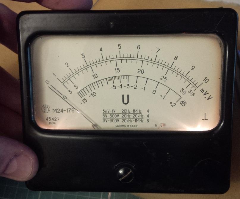 Небольшая модернизация лампового милливольтметра В3-13., изображение №12