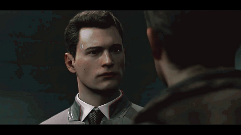 Gavin x connor {thinks he's fly [detroit: become human]