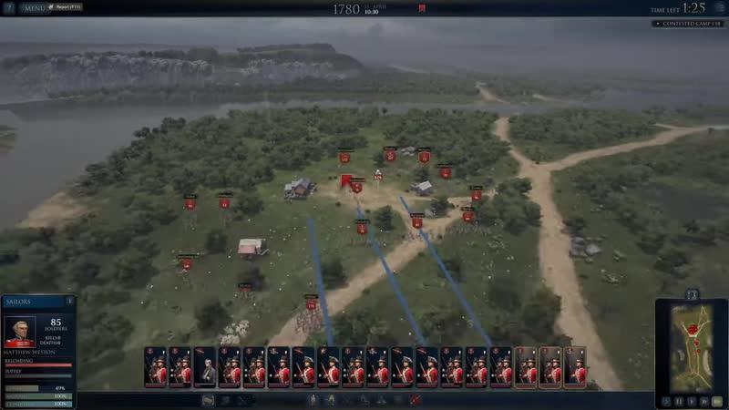 JeKaa Ultimate Admiral Age of Sail прохождение Битва у Санта Круз 3