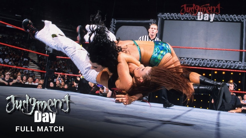 FULL MATCH Chyna vs Lita Women's Title Match WWE Judgment Day 2001