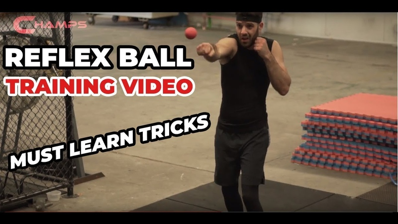 Boxing Reflex Ball must learn tricks! You will be surprised at what you can do with the Reflex Ball