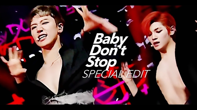 NCT U 'Baby Don't Stop' Stage Mix 교차편집 Special Edit