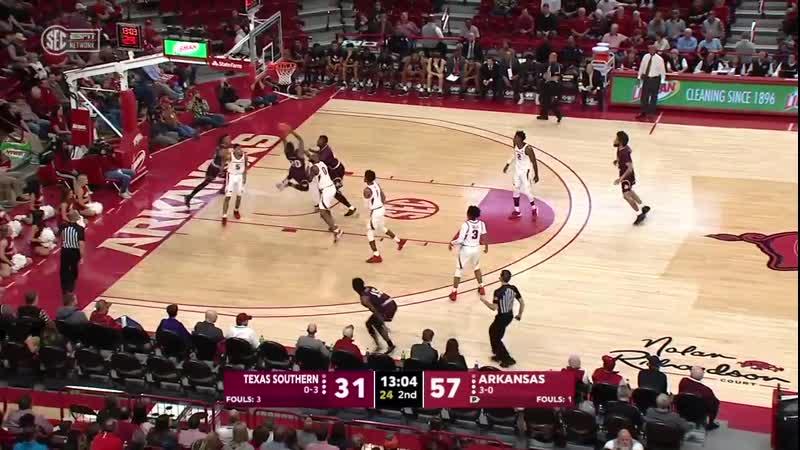 NCAAB 20191119 Texas Southern vs Arkansas