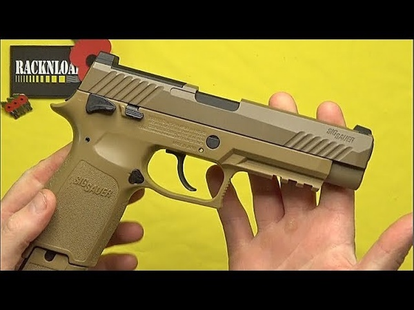 Sig Sauer M17 C02 **FULL REVIEW** by RACKNLOAD