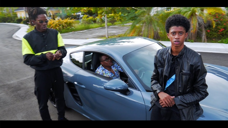 Blvk H3ro Wayne J - Young Boss (official music video)