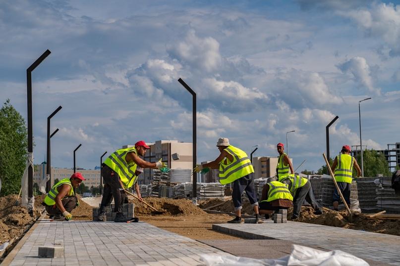Ухта комфортная: скейт-парк, обновлённый фонтан, новые бордюры и дороги, изображение №2