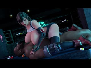 Tight Fantasy (Amusteven) [Affect3d] Tifa Lockhart 3D Хентай Hentai Final Fantasy Тифа Локхарт порно affect3d