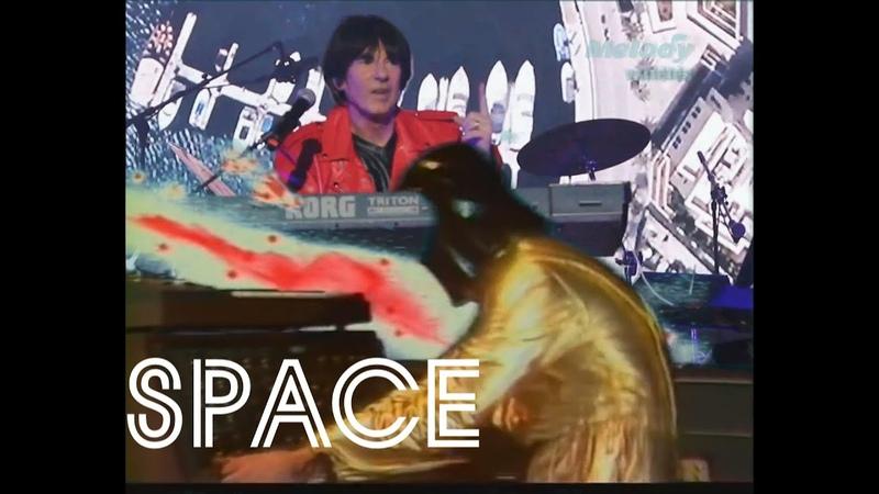 Space Running In The City Бег в городе