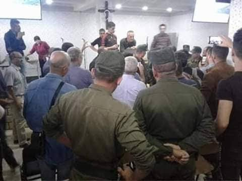 Fermeture d'église de Makouda Tizi Ouzou par la gendarmerie