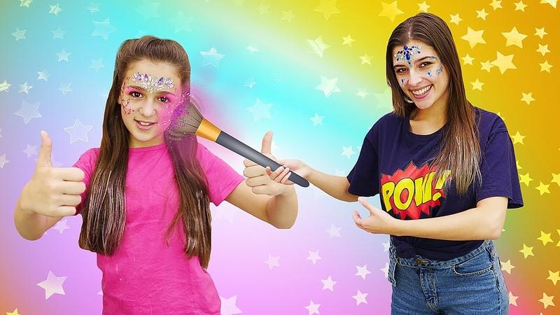 Классные видео для девочек. Модная косметика LUKKY! Выбери свой образ: русалочка или единорог?