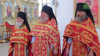 Митрополит Брянский и Севский Александр совершил Божественную литургию в Свенском монастыре