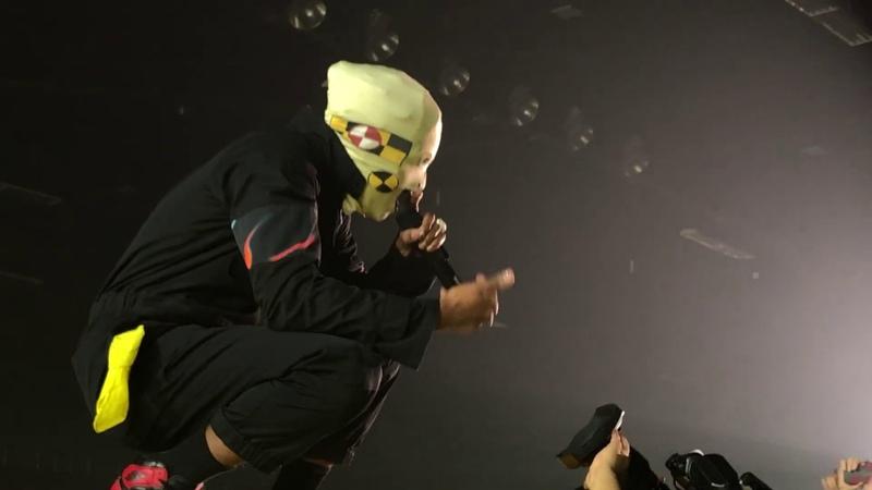 1 A$AP Forever Buck Shots Praise The Lord Da Shine A$AP Rocky Injured Generation Tour NC