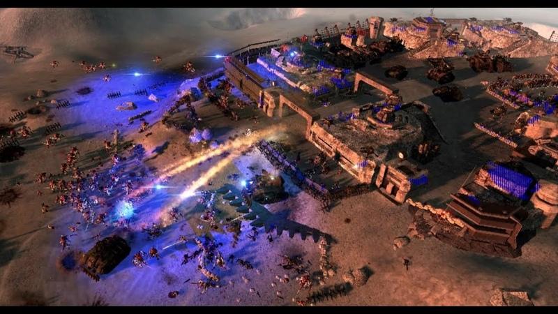 Рой Тиранидов пытается сожрать Крепость Гвардии Оборона до последнего В тылу врага 2 Штурм UMW 40k