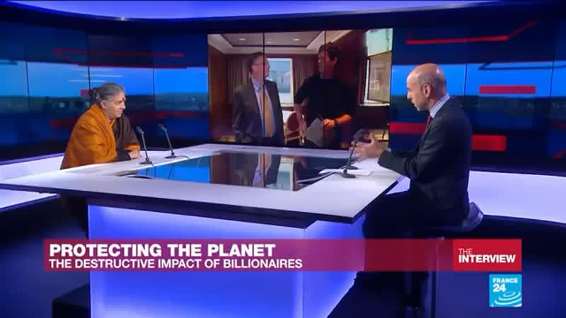 'Bill Gates is continuing the work of Monsanto' Vandana Shiva tells FRANCE 24
