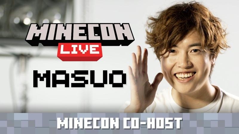 MINECON Live Co-Host Announce: Masuo